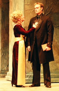 Hamlet and Gertrude